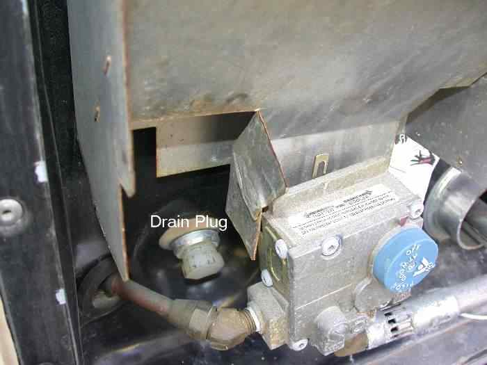 Hot Water Heater Drain Valve rv Hot Water Heater Drain